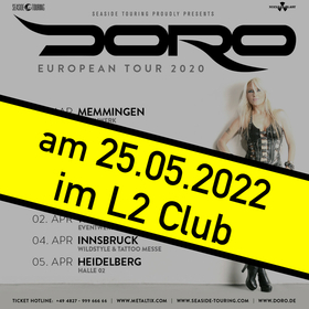 Doro European Tour 2020