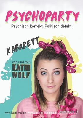 Bild: Kathi Wolf - Psychoparty ! Psychisch korrekt, Politisch defekt - Psychoparty ! Psychisch korrekt, Politisch defekt