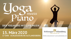 Bild: Yoga meets Piano