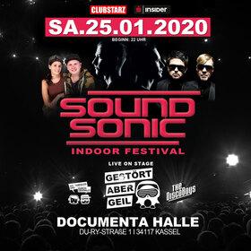 Bild: Sound Sonic Indoor Festival Kassel - Top Festival Acts zu Gast in Kassel