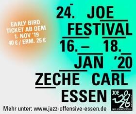 Bild: 24. JOE FESTIVAL 2020 - Early-Bird-Festivalticket - 16. bis 18. Januar