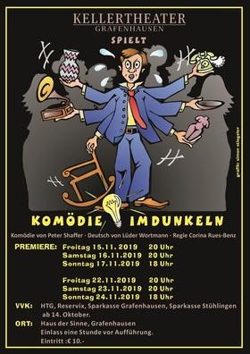 Bild: Kellertheater Grafenhausen - Komödie im Dunkeln