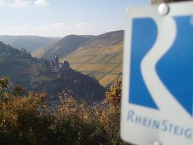 Bild: Grenzwanderung mit Weinprobe und Leckereien im historischen Freistaat Flaschenhals - Weinwanderung der besonderen Art, zwischen Reben, Rhein und Burgen