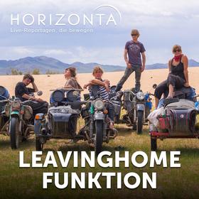 HORIZONTA HAMBURG: Leavinghomefunktion - Auf dem Landweg nach New York