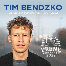 Bild: Tim Bendzko – Peenekonzerte 2021 - Jetzt bin ich ja hier Live 2021