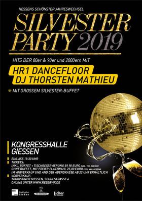 Silvester Party 2019/2020 - Hits der 80er, 90er und 2000er