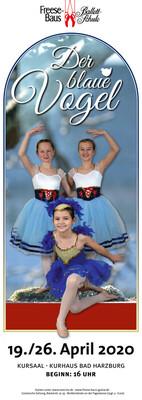 Bild: Der Blaue Vogel - Ein Märchenballett aufgeführt von den Schüler*innen der Ballettschule Freese-Baus