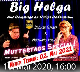 Bild: Big Helga - das Helga Hahnemann Programm (verschoben auf den 02. Mai 2021, 16:00 Uhr)