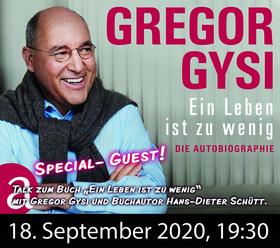 Bild: Gregor Gysi- Ein Leben ist zu wenig