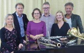 Bild: Kathrin Randecker und fünf Stuttgarter Bläsersolisten -
