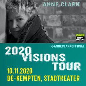 ANNE CLARK - 2020 Visions Tour