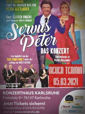Bild: Servus Peter - das Konzert - Live Hommage mit der Paul Kuhn Family