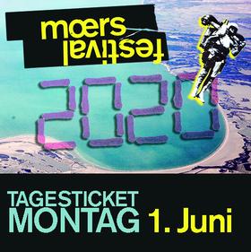Bild: moers festival 2020 - Tagesticket Montag, 01.06.2020