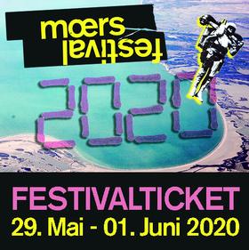 Bild: moers festival 2020 - Festivalkarte (29. Mai - 01. Juni 2020)