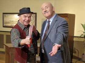 Bild: Hannes und der Bürgermeister