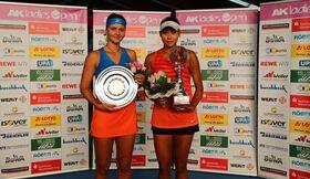 Bild: Halbfinale Einzel und Doppelfinale