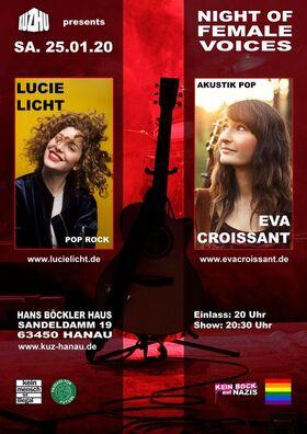 Bild: Night of Female Voices: Eva Croissant & Lucie Licht