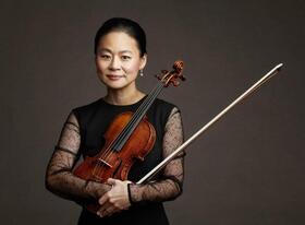 Bild: Brahms - Preisverleihung - an die Geigerin Midori