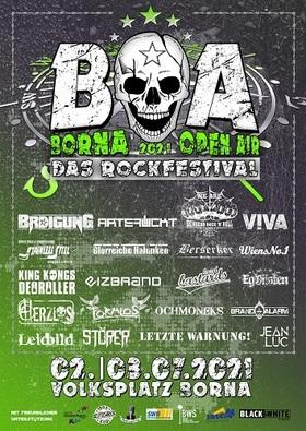 Bild: Borna Open Air 2021 - Das Rockfestival