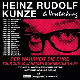 Bild: Heinz Rudolf Kunze & Verstärkung - Der Wahrheit die Ehre – Tour 2021