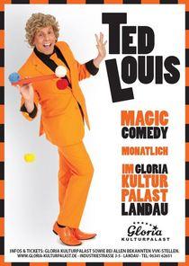 Bild: Ted Louis - Magic Comedy - Hokus Pokus Campingbus