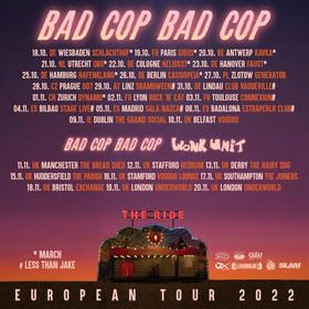 BAD COP / BAD COP - Album Release Tour 2021 • Support: MARCH
