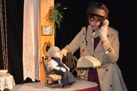 Bild: Erinnerungen einer alten Dame - Figurentheater für Erwachsene von und mit Gertrud Bünger - Veranstaltung im Rahmen der 16. Lohner Kulturtage