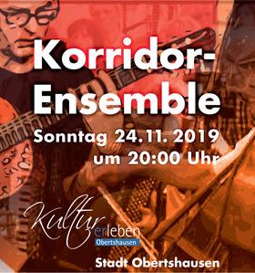 Bild: Korridor Ensemble - Musik aus Kino und TV - made in Obertshausen