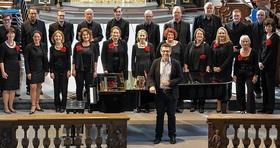 """Bild: Kammerchor Libera Voce,  Leitung: David Nethen - Franz Schubert """"Die Winterreise"""""""