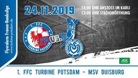 Bild: 1. FFC Turbine Potsdam - MSV Duisburg