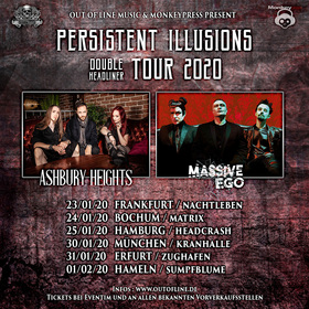 Massive Ego & Ashbury Heights - Persistent Illusions Tour
