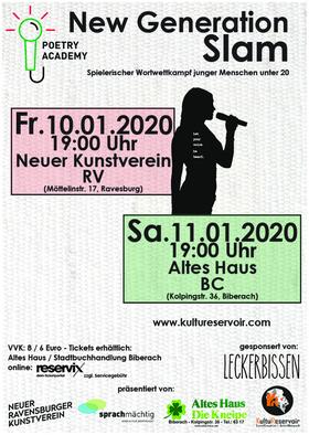 Bild: New Generation SLAM - Biberach - Spielerischer Wettkampf junger Menschen unter 20 by Poetry Academy Biberach