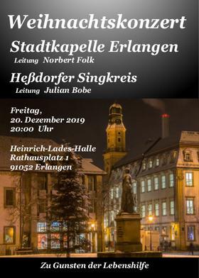Stadtkapelle Erlangen - Weihnachtskonzert der Stadtkapelle Erlangen