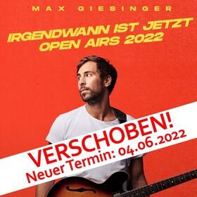 """Bild: MAX GIESINGER - """"Die Reise"""" Sommer Open Airs 2021"""