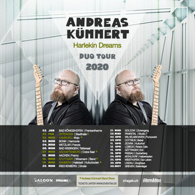 Andreas Kümmert Duo - Harlekin Dreams Tour 2020