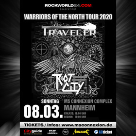 Bild: Traveler & Riot City - Warriors Of The North Tour 2020