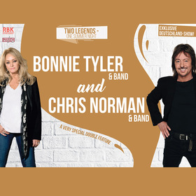 BONNIE TYLER & CHRIS NORMAN - A very special double feature - Two Legends - One Summer Night