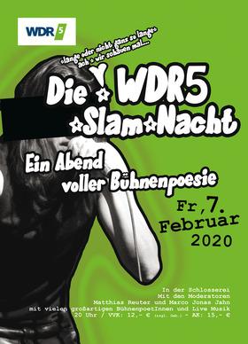 Bild: Die lange WDR5 Slam-Nacht