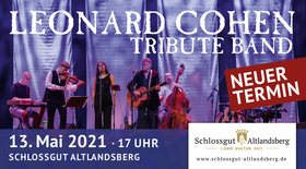 Bild: Leonard Cohen Tribute Band - Leonard Cohen Tribute Band in der Schlosskirche