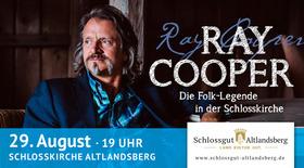Bild: Ray Cooper live - Folk-Legende und Mulitiinstrumentalist in der Schlosskirche