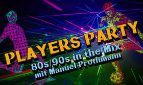 Bild: PLAYERS PARTY – vom 25. Potsdamer Möbelhaus C.H.R.I.S.T. – Masters - 80er/90er in the Mix mit DJ Manuel Prothmann