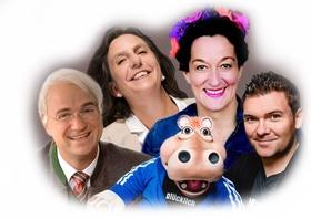 Bild: Open Air Kabarett & Comedy Abend - mit den Künstlern Sebastian Reich & Amanda, Birgit Süss & Heidi Friedrich, Wolfgang Krebs