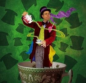 Bild: Die zauberhafte Teestunde des Jalin Alfar und seiner wundersamen Freunde