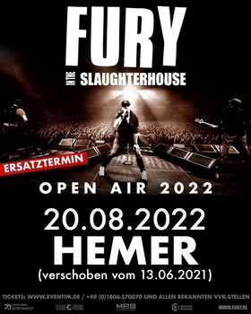 Bild: Fury In The Slaughterhouse - + Jini Meyer