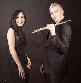 Bild: Klavier und Flöte