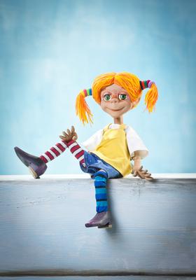 Bild: Hey, hier kommt Pippi Langstrumpf!
