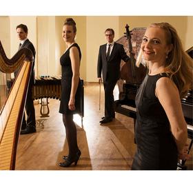 Bild: Hofmusik Festival mit dem Blue Chamber Quartet