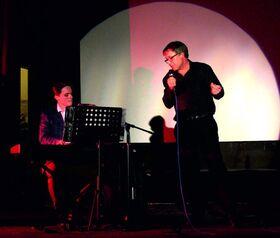 Bild: Musikalischer Abend mit dem Duo
