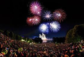 Bild: Feuerblumen und Klassik Open Air im Britzer Garten - Beethoven und die Wiener Klassik