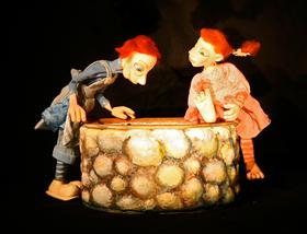 """Bild: 11. Markkleeberger Puppentheaterfest """"Potzblitz - Eine Wetterhexe dreht auf"""""""